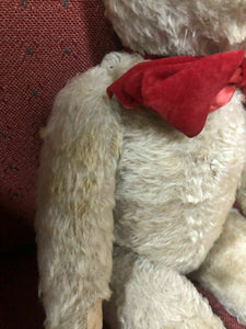 "Vintage Antique Steiff Bear - Ht. 16"" -Circa 1900's All Original Rare Mohair4468"