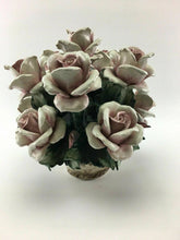 Load image into Gallery viewer, Vintage Capodimonte Bouquet With Purple Flowers - Lot 3286