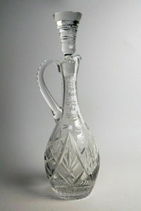 CUT GLASS DECANTER - LOT 2818