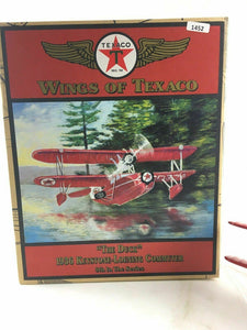 "New Wings Of Texaco 1936 Keystone-Loening Commuter Plane ""The Duck""  4701"