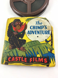 Vintage The Chimps Adventure Castle Films 8MM Film #5409