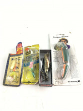 Load image into Gallery viewer, Vintage Fishing Lures Lot Of 5 5392