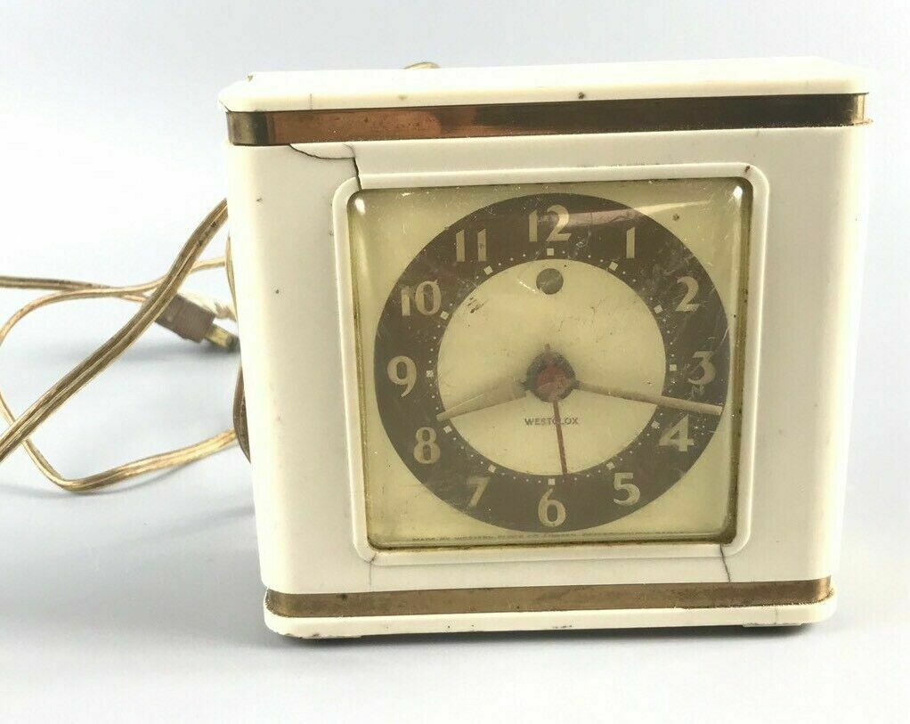 Vintage Electric Westclox Alarm Clock- 2646
