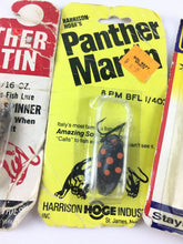 Load image into Gallery viewer, Vintage Fishing Lures Lot Of 5 New 5612