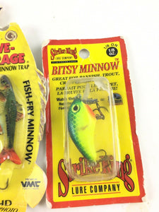 Vintage Fishing Lures Lot Of 5 New 5612