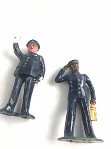 Vintge Lead Barclay Officer Figures (2)- 5751
