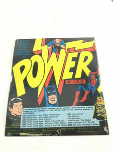 "7"" Superman record ""PO Box 65"" 33 1/3 RPM Little Records C28"