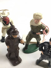 Load image into Gallery viewer, Assorted Lot Of 6 Vintage Lead Figures- Cowboy, Soldier, Ect- 5761