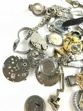 Load image into Gallery viewer, HUGE Assorted Lot Of Mens Wrist Watch Dials & Bands - Rapair Or Parts- 4779
