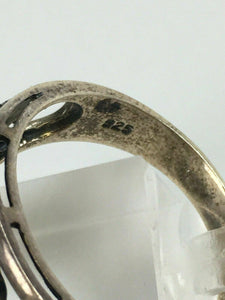 Sterling Silver Elephant Ring Size 11 - Lot 3914
