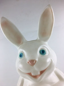 "Vintage Easter Bunny Light Up 32"" Blow Mold 5023"