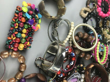 Load image into Gallery viewer, 5lb Lot of Jewelry Bracelets (resell or parts) - lot 2593
