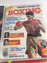 Load image into Gallery viewer, Assorted Lot Of 5 Vintage Boxing Magazines-1984-88MINT-5504