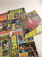 Load image into Gallery viewer, Assorted Lot Of 10 Vintage Boxing Magazines-1957-1969 MINT-5415
