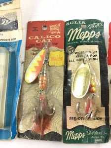 Vintage Spinners Fishing Lures 5007