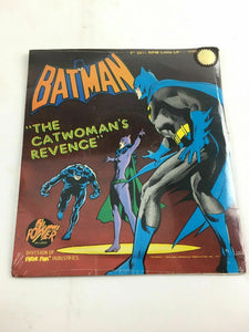 "7"" 33 RMP Little LP Batman The Catwoman's Revenge Record Power Records 1975 C28"