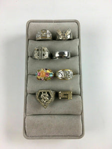 Assorted Lot of 8 Rings - Lot 3919
