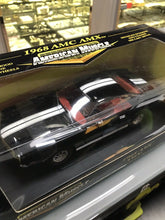 Load image into Gallery viewer, 1969 AMC AMX BLACK 1:18 Ertl American Muscle 32277- 3214