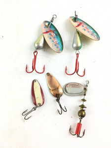 Vintage Spinners Fishing Lures 5022