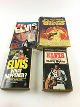 Load image into Gallery viewer, Vintage Lot Of 4 Elvis Books 4672