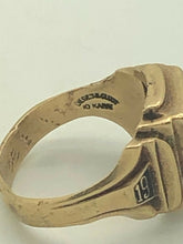 Load image into Gallery viewer, 10k gold 1948 high school class ring size 6.