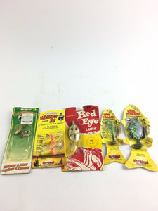 Vintage Fishing Lures Lot Of 5 -5000