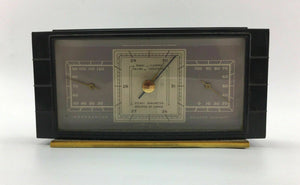Vintage Airguide Temperature and Humidity Gauge - Lot 3403