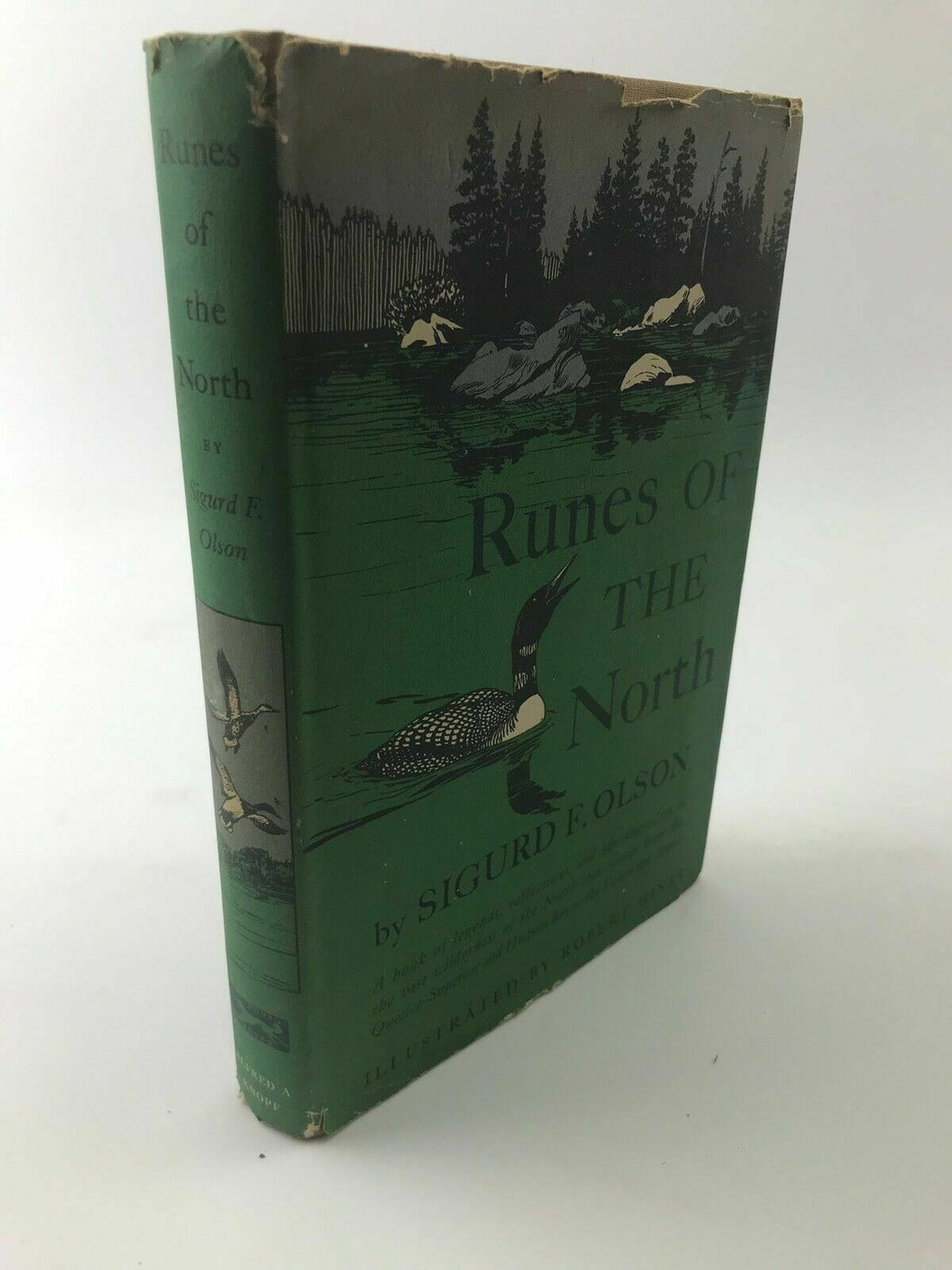 Runes of the North by Sigurd F. Olson First Edition with Dust Jacket - LOT 3243