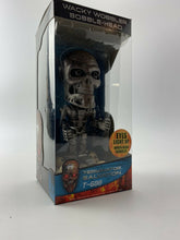 Load image into Gallery viewer, Terminator Movie Wacky Wobbler Funky T-600 NOS NEW IN BOX SEALED Eyes Lights Up