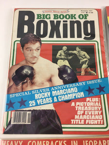 Assorted Lot Of 5 Vintage Boxing Magazines-1961-78 MINT-5488
