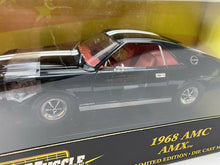 Load image into Gallery viewer, 1969 AMC AMX BLACK 1:18 Ertl American Muscle 1 Of 3750