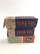 Load image into Gallery viewer, Assorted Lot Of Three Electronic Radio Tubes- Tung-Sol & General Electric-5293