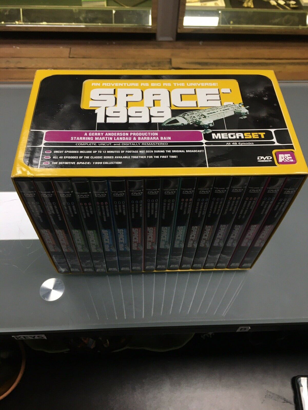 SPACE: 1999 MEGASET Boxed Set All 48 Episodes - 16 DVD's, Extra Footage, 3182