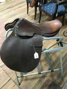 "Crosby Prix Des Nations 12.5"" Spring Seat English Tree Saddle - Lot 4190"