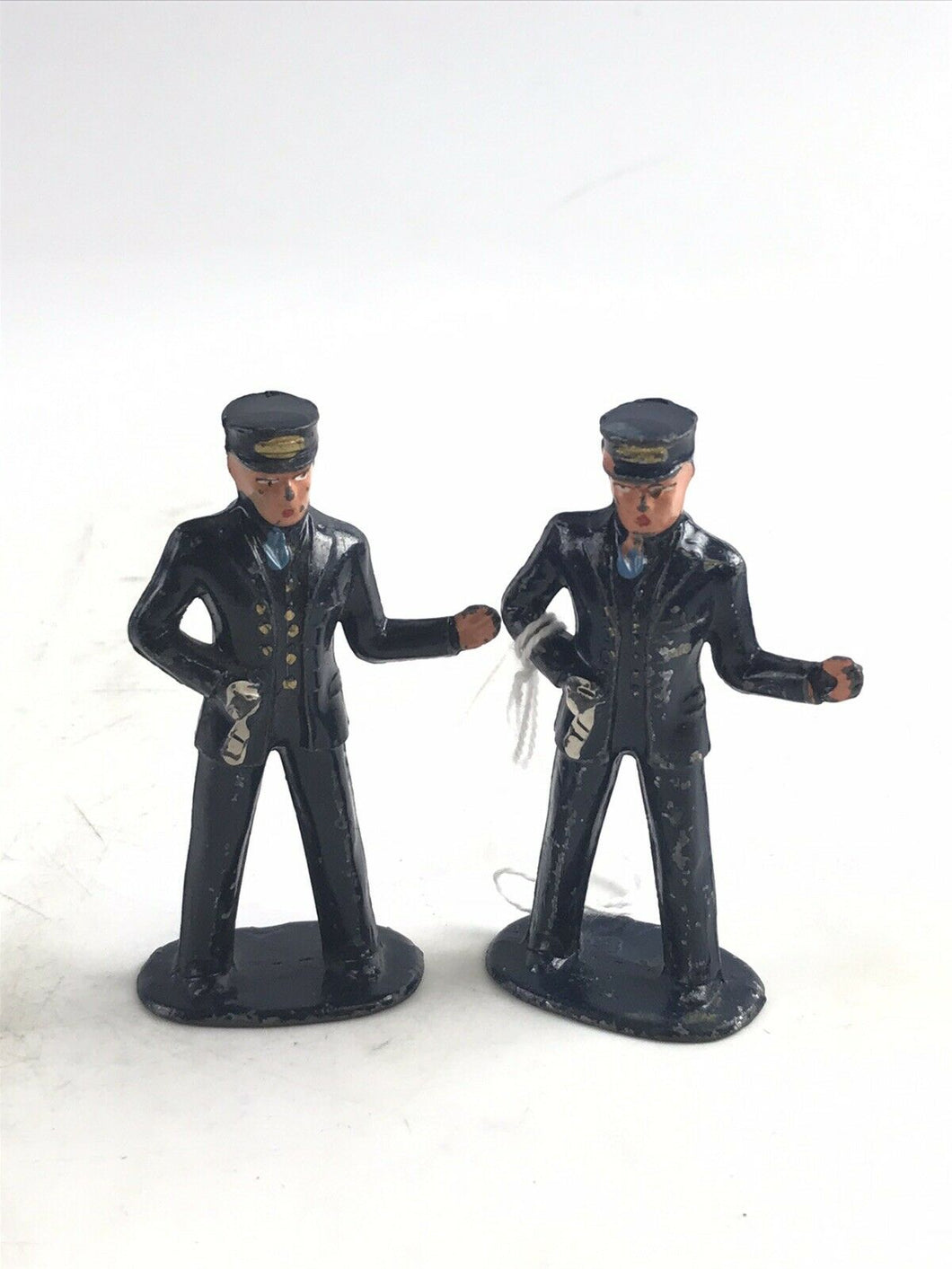"Vintage Lot Of (2) Lead Barclay ""Officer"" Figures- 5757"