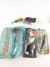 Load image into Gallery viewer, Vintage Fishing Lures Lot Of 5 5465
