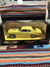 Load image into Gallery viewer, 1970 YELLOW CHEVY NOVA, 1/18 ERTL AMERICAN MUSCLE     NEW IN BOX-9067