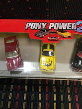 Load image into Gallery viewer, Johnny Lightning Pony Power 2, car set, Camaro,Mustang,AMC Javelin,Trans Am