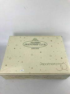NEW DEPARTMENT 56 SNOWBABIES FRIENDSHIP CLUB 1998-1999 #68889 GIFT SET- Lot 512