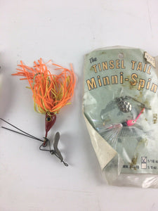 Vintage Fishing Lures Lot Of 5 New 5616