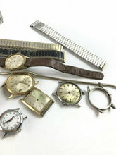 Load image into Gallery viewer, Assorted Lot Of Watch Dials & Bands- Parts Or Repair- 4777