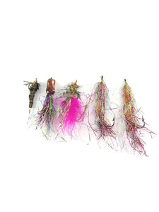 Vintage Fly Fishing Lot Of 5 5599