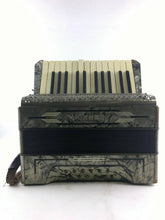 Load image into Gallery viewer, Hohner Accordion 1949 Grey/black B2
