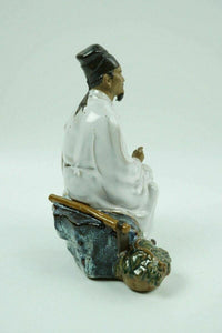 (2) Vintage Chinese Shiwan Mudmen Figurines - lot 2464