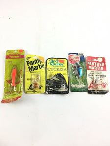 Vintage Spinners Fishing Lures 5019