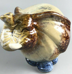 Decorative Porcelain Ceramic Elephant Figurine-1941