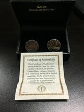 Load image into Gallery viewer, 1943 Lincoln Steel Penny Cuff Links -4399