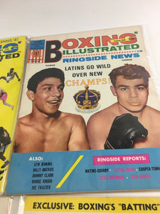 Assorted Lot Of 5 Vintage Boxing Magazines-1959-70 MINT-5533