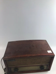 Vintage Zenith Long Distance Tube Radio S-52224 1940s/1950s W/ Phono Input-5266