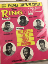 Load image into Gallery viewer, Assorted Lot Of 5 Vintage Boxing Magazines-1973 MINT-5485